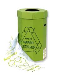paper recycling container