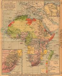 ancient maps of africa