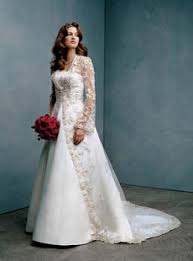 lace bridal wear