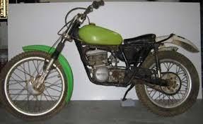 old dirt bike
