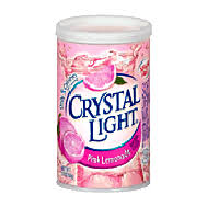 crystal light pink lemonade