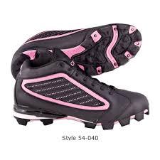 pink baseball cleats