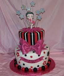 hot pink birthday cakes