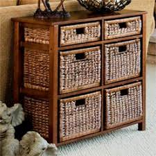 baskets drawers