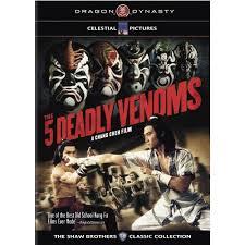 five deadly venoms dvd