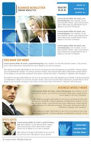 corporate newsletter templates