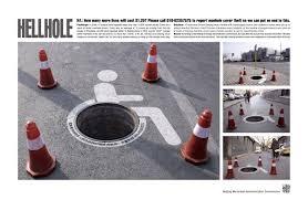 man holes
