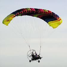 flying parachute