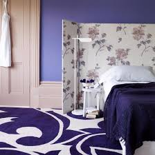 purple bedroom wallpaper