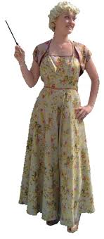 1940s formal dresses