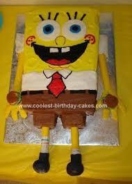 spongebob squarepants birthday cake