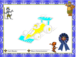 pinewood derby award