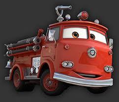 pixar cars red