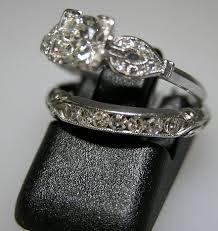 antique wedding rings sets