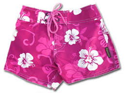 girl swimming shorts