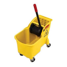 mopping bucket