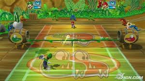 mario power tennis new play control