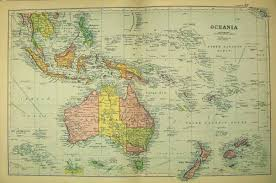 old australian maps