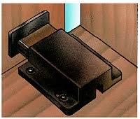 magnetic push latch