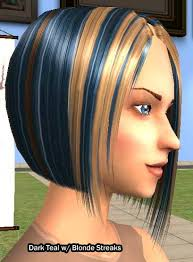 blonde hair streaks