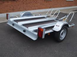 3 rail motorcycle trailers