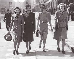 1940s women clothing