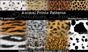 pictures of animal prints