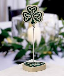 celtic knot shamrocks