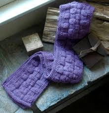 knitting scarves pattern