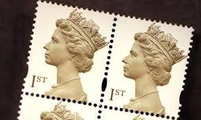 british postage stamp