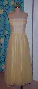1960s prom dress