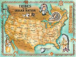 indians maps