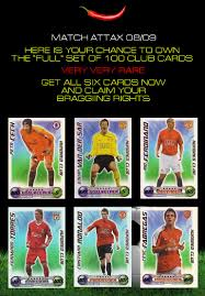 match attax cards 09
