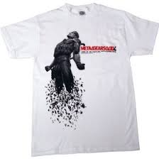metal gear solid 4 shirts