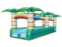 blowup water slides