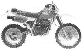 1987 xr600