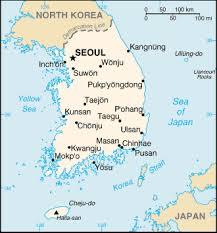 korea south map