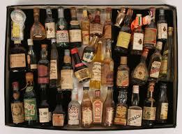 bottles of rum