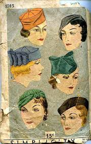 antique ladies hats