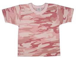 pink camouflage shirt