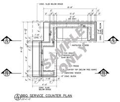 outdoor kitchens plans