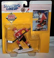 hockey action figure