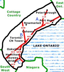 cn tower map