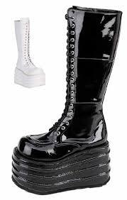goth platform boot