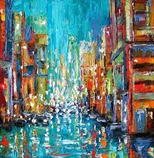 abstract painting artist