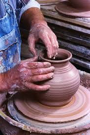 clay pottery wheel