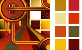 retro color palette