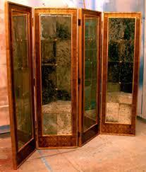 antique mirror finish