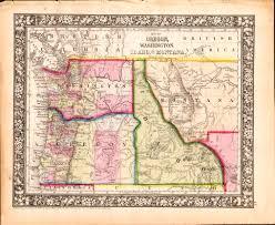 map of oregon and idaho