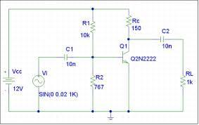 amplificador con transistores